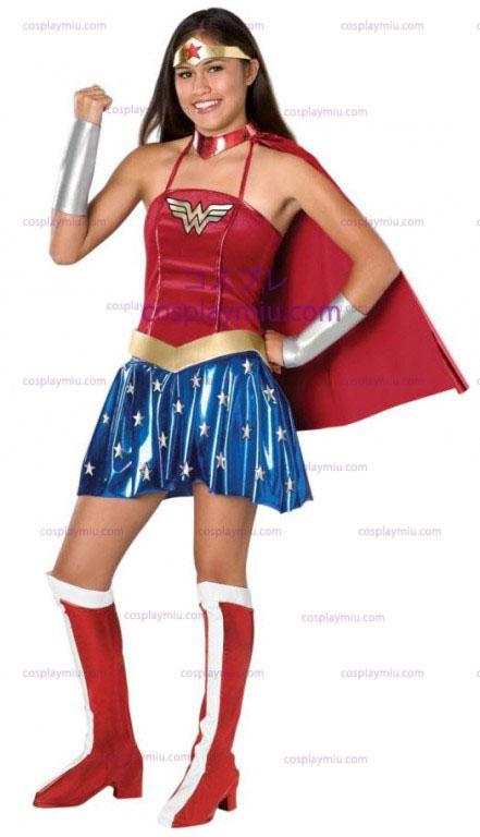 Wonder Woman Teen Kostuum
