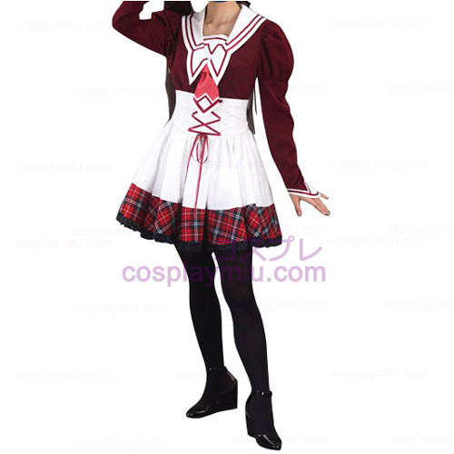School Girl Uniform kostuum
