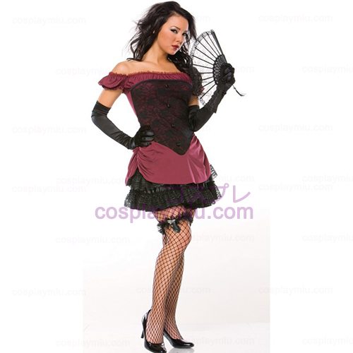 Sexy Saloon Girl Adult Costume