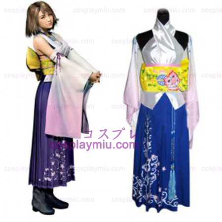 Final Fantasy X Yuna Cosplay Kostuum