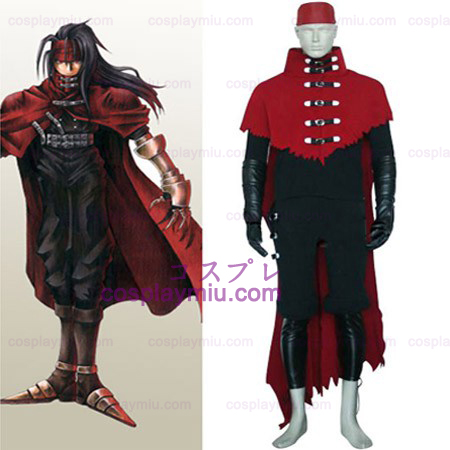 Final Fantasy VII Vincent Valentine Halloween Cosplay Kostuum