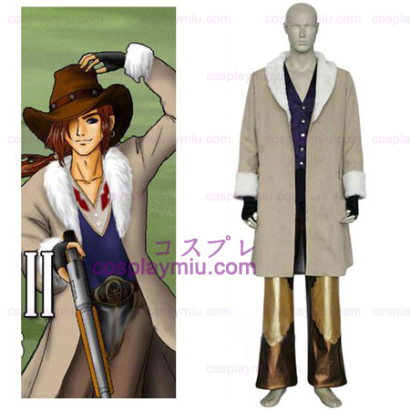 Final Fantasy VIII Irvine Kinneas Cosplay Kostuum