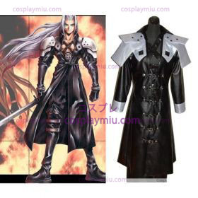 Final Fantasy VII Sephiroth Deluxe Men Cosplay Kostuum