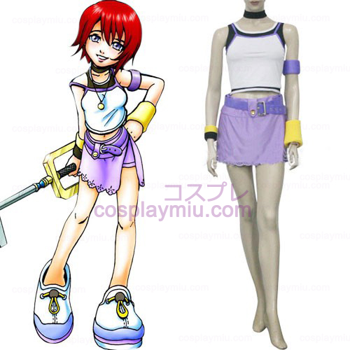 Kingdom Hearts 1 Kairi Women's Cosplay Kostuum