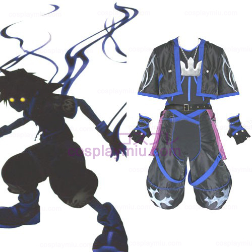 Kingdom Hearts 2 Anti Sora Mannen Cosplay Kostuum