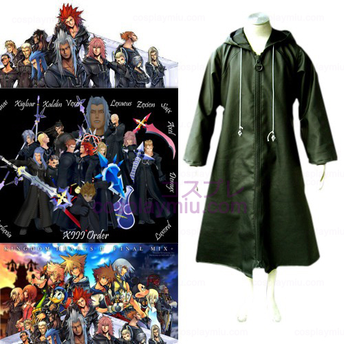 Kingdom Hearts 2 Organization XIII 13 Cosplay Kostuum