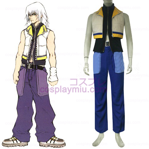 Kingdom Hearts 2 Riku Men's Cosplay Kostuum