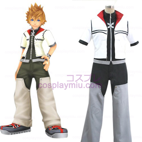 Kingdom Hearts 2 Roxas Men's Cosplay Kostuum