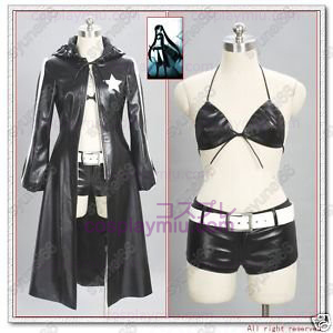 Vocaloid Black Rock Shooter Cosplay Kostuum