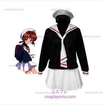 Cardcapture Sakura Tomoe Primary School Girls Cosplay Kostuum
