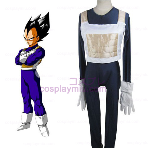 Dragon Ball Vegeta Battle Dress Cosplay Kostuum