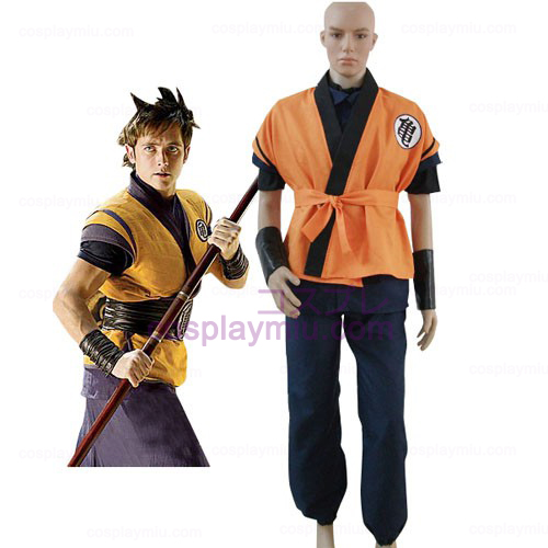 Dragon Ball Movie Goku Cosplay Kostuum
