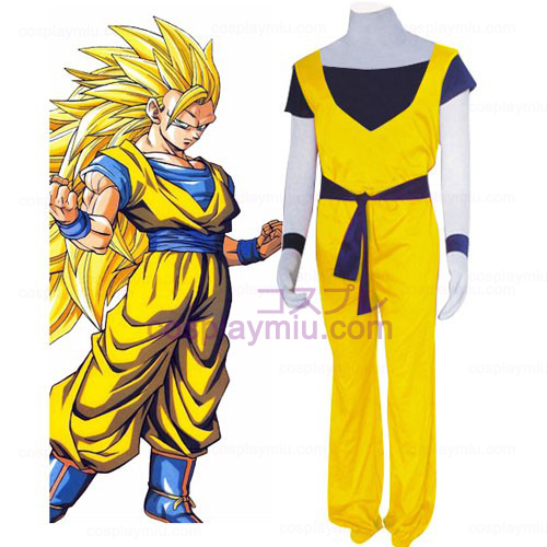 Dragon Ball Katoen Cosplay Kostuum