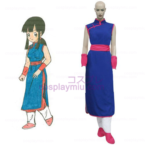Dragon Ball Chi Chi Cosplay Kostuum