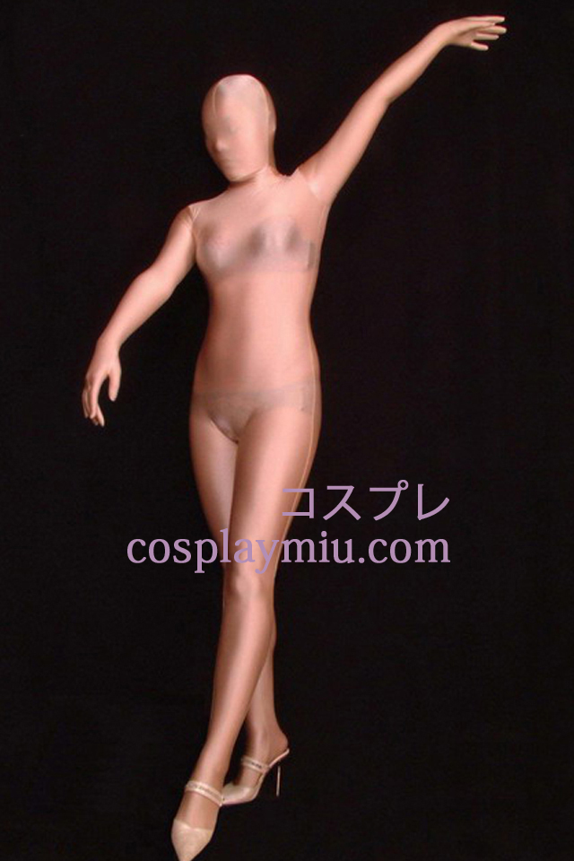 Naakt Skin Color Semi-transparant Full Body Unisex Zentai Kostuums